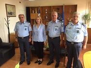 Ευσταθία Γιαννιά: Επίσκεψη στην Περιφερειακή Αστυνομική Διεύθυνση Δυτικής Ελλάδος