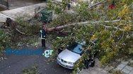 Καταρρακτώδης βροχή και χαλάζι στη Θεσσαλονίκη (pics+video)