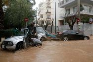 Η βροχή βούλιαξε τα αυτοκίνητα - Πλημμύρες στο Μαρούσι και στην Κηφισιά (pics+vids)