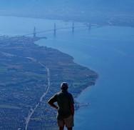 Θέα στο... στενό Ρίου - Αντιρρίου από την κορυφή της Κλόκοβας!