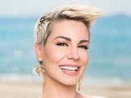 Η Ράνια Κωστάκη στην παραλία της Καλόγριας!