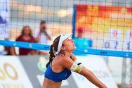 """""""Ασημένια"""" στο πανελλήνιο beach volley η Πατρινή Αλίκη Σπηλιωτοπούλου (pics)"""