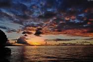 Τα μαγευτικά ηλιοβασιλέματα του Πατραϊκού «ζωγραφίζουν» στον ουρανό (pics)