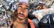 Ο Lewis Hamilton καθάρισε παραλία της Μυκόνου από τα σκουπίδια (video)