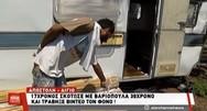 Σοκαρισμένος ο συγκάτοικος του 31χρονου που δολοφονήθηκε με βαριοπούλα στο Αίγιο (video)