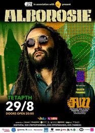 Alborosie live in Fuzz Live Music Club