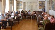 Πάτρα: Πραγματοποιήθηκε η σύγκληση του Συντονιστικού Τοπικού Οργάνου για τα μέτρα εναντίον των πυρκαγιών