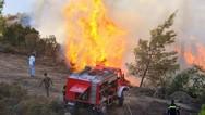 Υψηλός κίνδυνος πυρκαγιάς για σήμερα σε Αχαΐα και Ηλεία