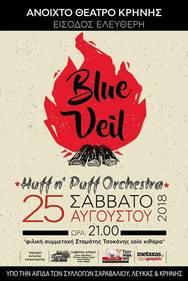 Blue Veil & Huff n' Puff Orchestra live στο Ανοιχτό Θέατρο Κρήνης