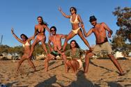 Η τρελή - τρελή παρέα των αθλητών της Ολυμπιάδας Πατρών που ξεσήκωσε την Αντίπαρο!
