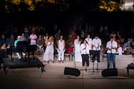 Πάτρα: Όμορφα τραγούδια πλημμύρισαν το Κάστρο του Ρίου (pics)