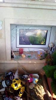 Αγρίνιο: Βεβήλωσαν τον τάφο του Κελευστή Γεώργιου Ναστούλη