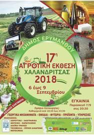 17η Αγροτική Έκθεση στη Χαλανδρίτσα