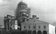 Ο ιερός ναός του Αγίου Ανδρέα υπό κατασκευή