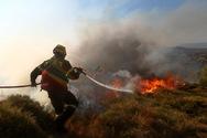 Δυτική Ελλάδα: Υψηλός κίνδυνος πυρκαγιάς για σήμερα Δευτέρα