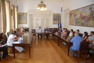 Πάτρα: Ο Δήμαρχος πραγματοποίησε συνάντηση με τους εργαζόμενους καθαριότητας