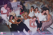 White Romantic Roof Latin Party at Σταθμός Cocktail Bar 03-09-18