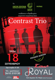 Contrast Trio Live at Royal Theater