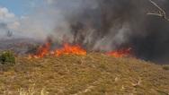 Ηράκλειο: Μεγάλη φωτιά στην περιοχή της Τυλίσου
