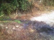 Ηλεία: Άδειαζαν λύματα σε οικόπεδο