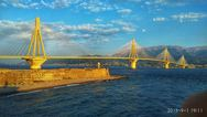 O Πατραϊκός κόλπος στολίζεται από μια… χρυσαφένια γέφυρα