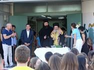 Ο Αντιπεριφερειάρχης Γρ. Αλεξόπουλος σε σχολεία της Πάτρας