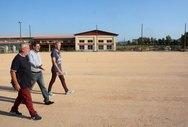 Πάτρα - Ο Κώστας Πελετίδης στα γήπεδα Πετρωτού και Σαραβαλίου (φωτο)