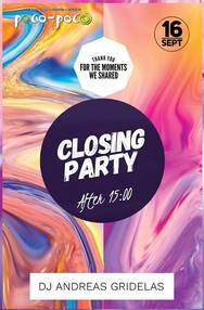 Closing Party at Poco Poco