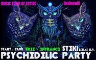 Psychedelic Party στη Φοιτητική Εστία Πανεπιστημίου Πατρών