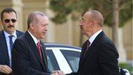 Ο Ερντογάν επισκέφθηκε το Αζερμπαϊτζάν
