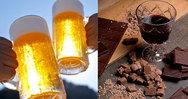 Ζουν περισσότερο όσοι απολαμβάνουν μπύρα, κρασί και σοκολάτα!