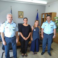 Η συντονίστρια του Φορέα Ανάπτυξης «ΚΛΙΜΑΚΑ» επισκέφθηκε τη Διεύθυνση Αστυνομίας Αχαΐας!