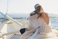 Νέες φωτογραφίες από το γάμο του Χάρη Χριστόπουλο με την Anita Brand!