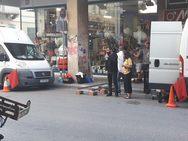 Γυρίσματα για ταινία στην οδό Κανακάρη της Πάτρας (pics)