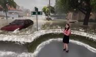 Δελτίο καιρού περνάει σε εντελώς άλλο επίπεδο (video)