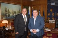 Ο Πάνος Καμμένος συναντήθηκε με το Δήμαρχο Μεσολογγίου, Νικόλαο Καραπάνο!