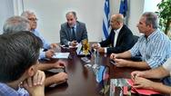 Δυτική Ελλάδα: Η νέα Διοικούσα Επιτροπή του ΓΕΩΤ.Ε.Ε. στον Απόστολο Κατσιφάρα