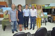 Με επιτυχία η ατομική έκθεση ζωγραφικής του Δημήτρη Ρογγίτη στην Αμαλιάδα (pics)