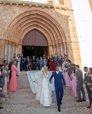 Εντυπωσιακές φωτογραφίες από το γάμο του Αλβάρο με την Denize Severo!