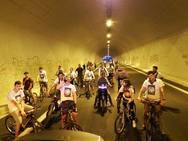 Ποδηλατάδα με... φεγγαράδα στο έργο της Μίνι Πετριμετρικής της Πάτρας (pics)