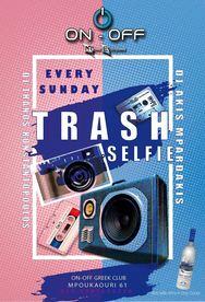 Trash Selfie Grey Goose Contest at On-Off
