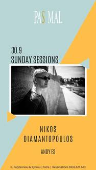 Nikos Diamantopoulos & Andy Es - Sunday Sessions at Pas Mal