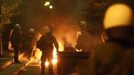 Θεσσαλονίκη: Συμπλοκή με μολότοφ έξω από το τουρκικό προξενείο