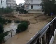 Μεγάλες οι ζημιές από την κακοκαιρία στους δήμους Κιάτου και Βέλου