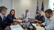 Πάτρα: Συνάντηση Κατσιφάρα - Γεωργιοπούλου για τις βασικές ανάγκες του Καραμανδανείου Νοσοκομείου!