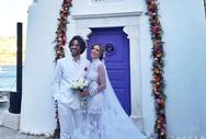 Παντρεύτηκε η Αθηνά Οικονομάκου με τον Φίλιππο Μιχόπουλο (pics)