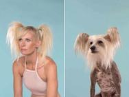 Σκύλοι δίπλα στους ιδιοκτήτες τους - Εκπληκτική ομοιότητα (φωτο)