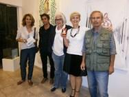 Πάτρα: Με επιτυχία τα εγκαίνια της έκθεσης της Ισμήνης Μπονάτσου 'Art is an Ark' (φωτο)
