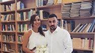 Ο Τριαντάφυλλος Παντελίδης παντρεύτηκε με πολιτικό γάμο (pics)