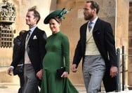 Η εμφάνιση της εγκυμονούσας Pippa Middleton στο βασιλικό γάμο (φωτο)